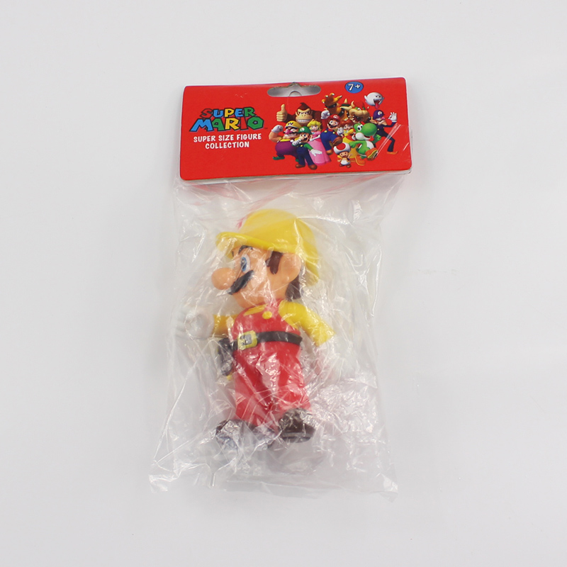 13cm The Repairman Mario Vinyl Figure Toys Super Mario Bro PVC Action Figure Toys Doll Brinquedos Kids Birthday Gifts 5