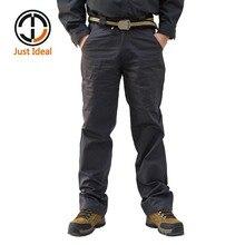 2017 männer Casual Hosen Baumwollhosen Mehrfach Cargo Pant Chinos Marke Kleidung Plus Größe ID633