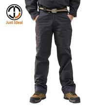 2017 Men Casual Pants Cotton Trousers Multi Pocket Cargo Pant Chinos Brand Clothing Plus Size ID633
