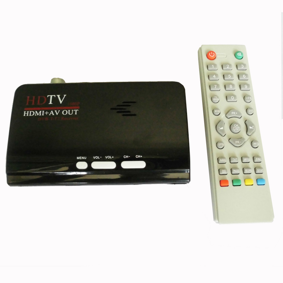 1080p full hd dvb t2 dvb t usb hdmi tv receiver digital terrestrial hdmi av cvbs external tv. Black Bedroom Furniture Sets. Home Design Ideas