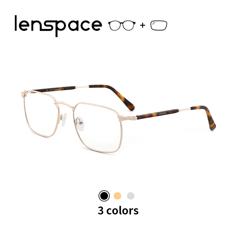 Metal Glasses Frame Women Square Glasses Optical Prescription Eyeglasses Vintage Myopia Glasses Myopic Spectacle Frame Unisex(China)