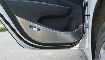 It is suitable 14-1 7 for  hyundai  mistra  kinds of door guard kick mat for refitting car door and kicking board.