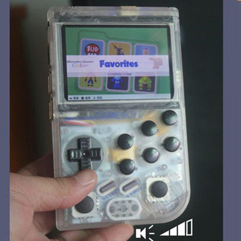 Double joystick arcade de poche jeu Framboise Pi rétro gameboy console de jeu Super HD IPS Production cycle disponible 12 ~ 22 jours