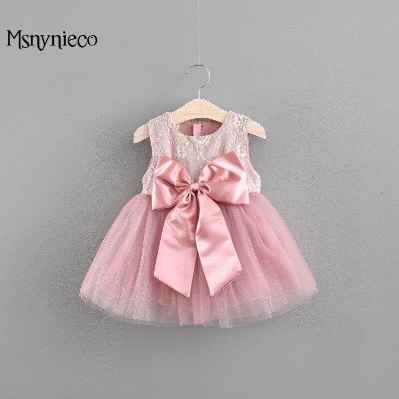 Summer Embroidery Party Birthday Princess Baby Dress 2018 Cute Baby Girls Dresses Infant Vestdio Child Baby Cotton tutu Dress