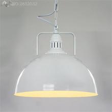 Lámparas colgantes JW_Loft para almacén Industrial lámparas de país americano iluminación Vintage para restaurante/dormitorio decoración del hogar negro