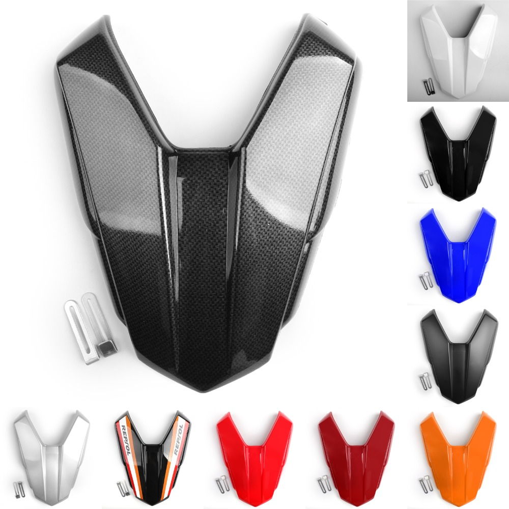 Areyourshop Motorcycle For Honda CB500F CBR500R 2016-2018 Rear Seat Passenger Cover Cowl Fairing Motorbike Accessories Styling