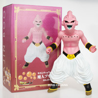 Dragon Ball Z Majin Buu Hercule Friend Big Cloth Son Goku Opponent Vinyl 30CM Action Figure Collectible Model Toy BOX D504