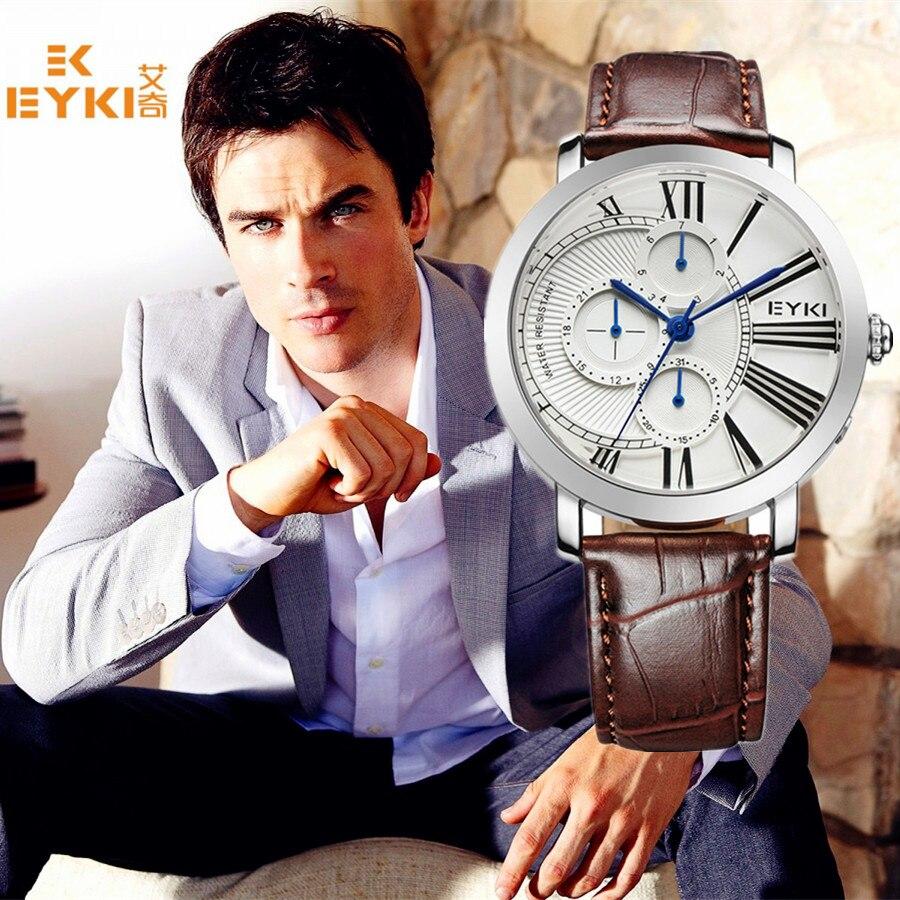 b90d81b53fcf6 Montre de mode hommes montre à Quartz militaire chronographe hommes montres  Top marque de luxe en