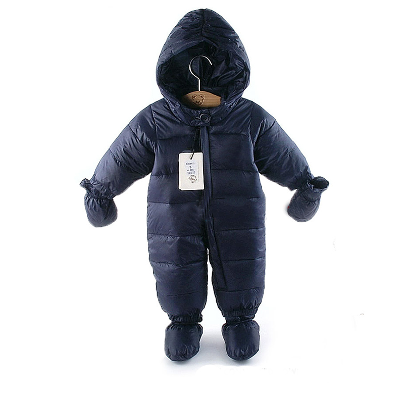 new arrive by a thick warm winter clothes newborn girls boys newborn baby snowsuit down jumpsuit
