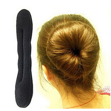 Hot Sale New Fashion 1PC Hair Styling Magic Sponge Clip Foam Bun Curler Hairstyle Twist Maker Tool Braider Accessories