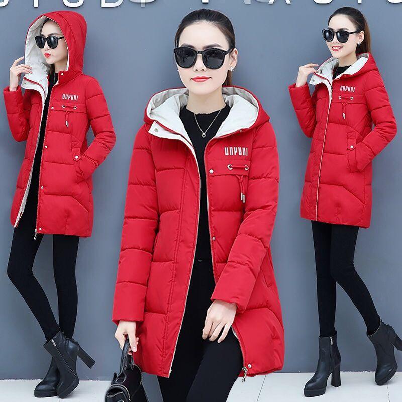 Orwindny Women Thicken Parkas Hooded 2019 New Winter Coat Women Plus Size S-3XL Wadded Jacket Long Parka Gilrs jaqueta feminina
