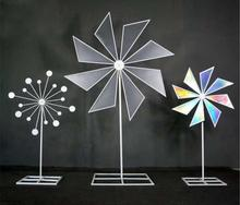 Tieyi Light Film Electric Windmill Wedding Projects Site Decoration Stage Background Layout Creative Arrangements