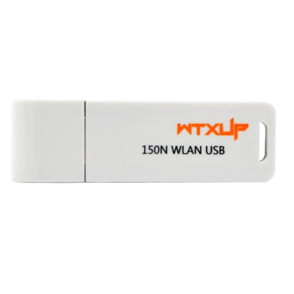 WTXUP RaLink RT3070 Mini 150Mbps Wireless WiFi USB Adapter WPS Wi-Fi Dongle For Windows 7/8/10/TV White