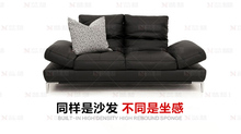 cow genuine/real leather sofa set living room sofa sectional/corner sofa home furniture couch 2 seater functional backrest