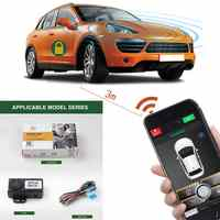 Smartphone Automatic Trunk Opening Car Alarm System Push Control Passive Smart Key Central Locking/Unlock Door Keyless Entry