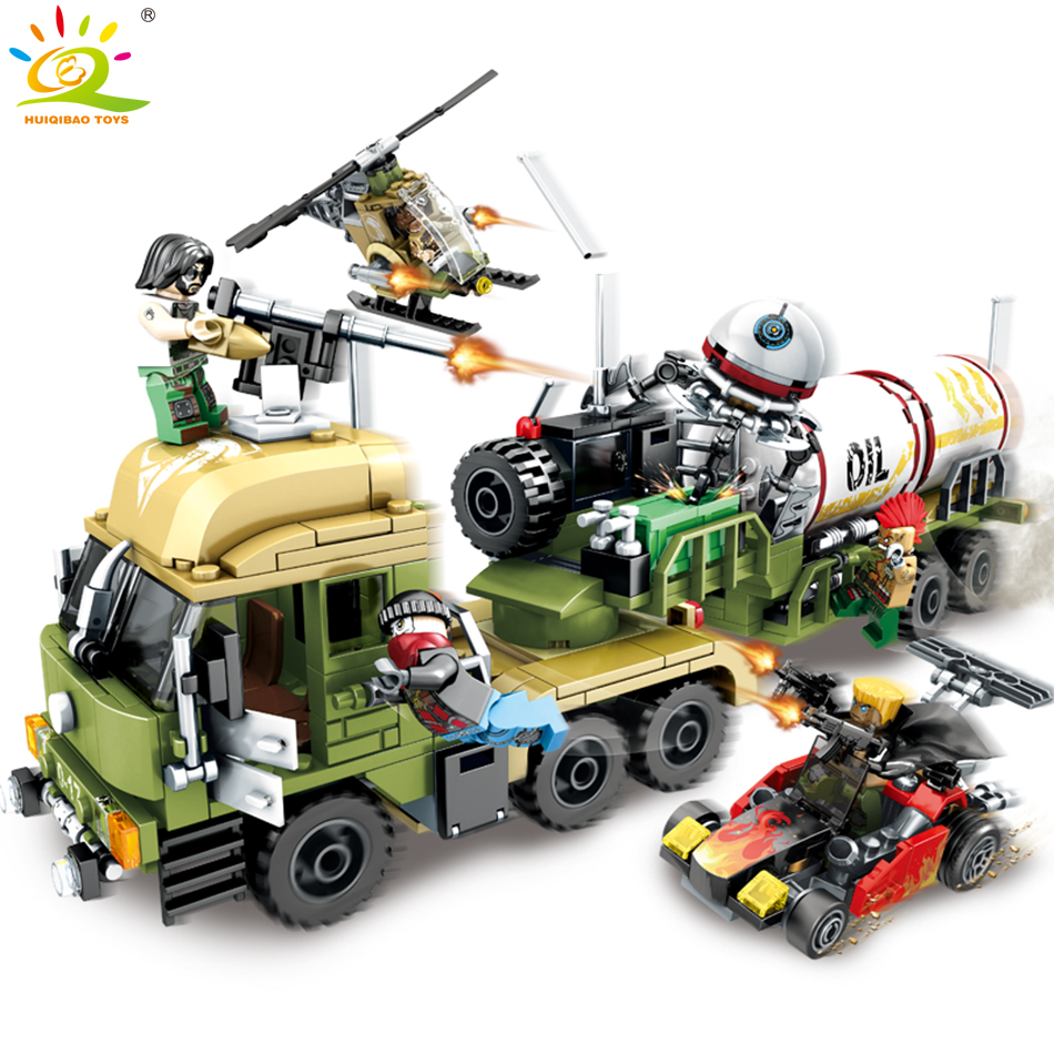 539pcs Military series Oil Tanker building blocks Compatible Legoed soldier figures weapon enlighten bricks children toy for boy military army world war soldiers compatible legoed city figures weapon building blocks diy bricks enlighten children toy for boy