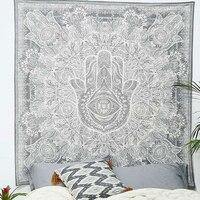 Cilected Ấn Độ Mandala Tấm Thảm Phật In Treo Quần Áo Tường Bohe Vải Rèm Bàn Ăn Ngoài Trời Vải Bãi Biển Hippie Tấm Thảm