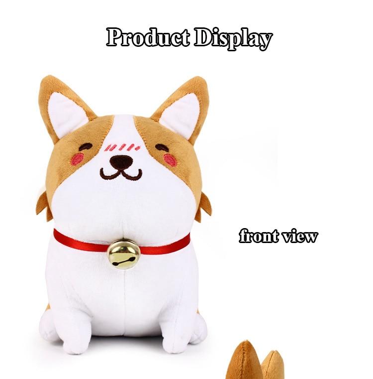 1pcs 1020cm Cute Corgi Dog Plush Toy Stuffed Dolls Lovely Soft Animal Cartoon Dog Plush Keychain for Baby Kids Christmas Gift (5)