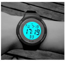 2017 Lokior Outdoor Sports Watches Hiking Men Watch Digital LED Electronic Watch women Sports Watches Chronograph Men Clock