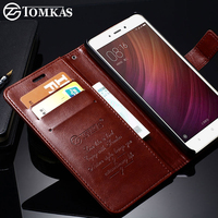 Case For Xiaomi Redmi Note 4 Wallet Flip Style Broncos PU Leather Cover With Card Holders