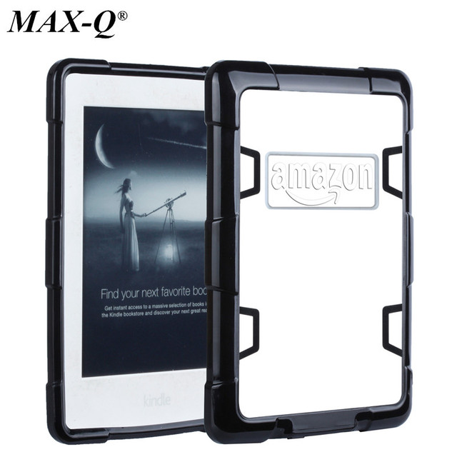 sale retailer 5b9e2 522a8 US $9.99 |For Amazon Paperwhite Case,Hard PC Corner+Transparent Clear Slim  Soft TPU Back Cover for Kindle Paperwhite full protective shell-in Tablets  ...