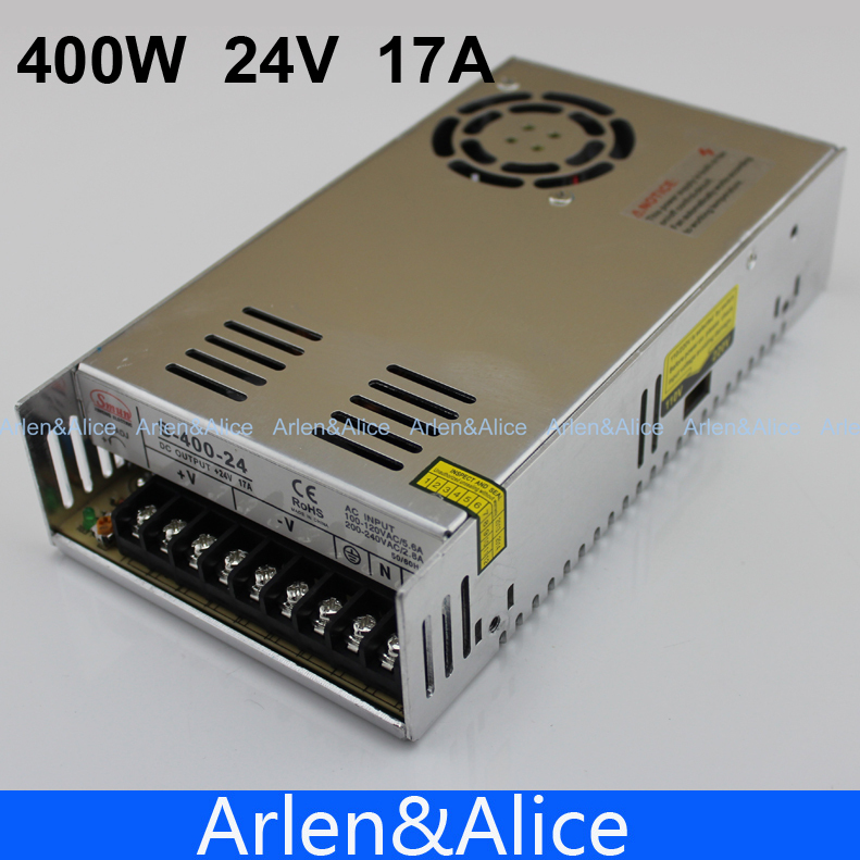 400W 24V 17A Single Output Switching power supply for LED AC to DC smps
