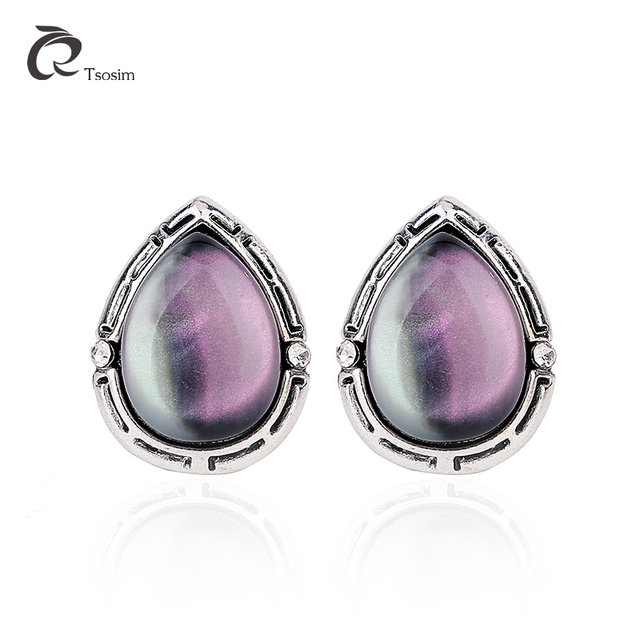 Elegant Tulip Purple Freshwater Pearl Clip Earrings Without Piercing Crystal Statement Fashion For Women Jewelry