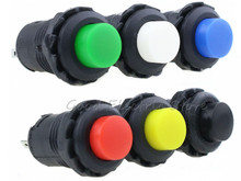6pcs DS228/428 Momentary or Locking Push Button Round Toggle Switch Wonderful ON/OFF