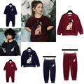 10 Design Children clothing Set velvet rabbit sweater pants Long Sleeve Kids Sweatshirt baby romper girls dress boys Bobo Choses
