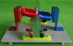 Pojedyncze cewki zasady silnika demonstrator liceum fizyki eksperyment instrument nauczania darmowa wysyłka