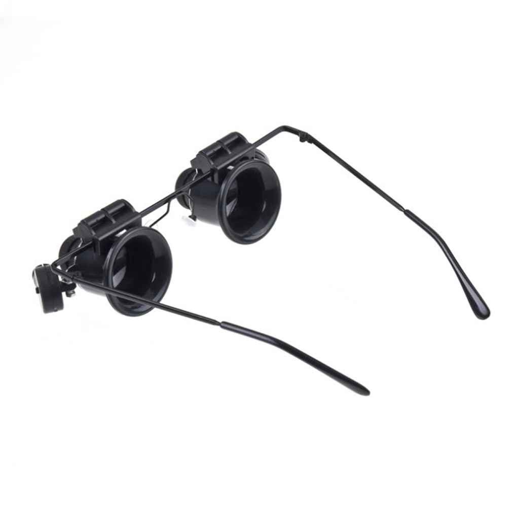 Image 3 - Outdoor tool Glasses Type 20X Watch Repair Magnifier with LED Light  New super discount Hot-in Outdoor Tools from Sports & Entertainment