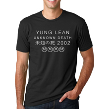 ca2593f01e8619 Letter Printed YUNG LEAN UNKNOWN DEATH Sad Boys T-shirts Men s Streetwear  Short Sleeve O · 19 Colors Available