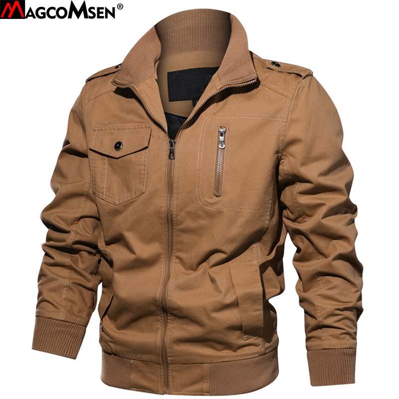 Detail Feedback Questions about MAGCOMSEN Jackets Men Military Style Casual  Bomber Jackets and Coats Tactical Army Coat Windbreakers Male Pilot Outwear  SSFC ... 669b214caf0