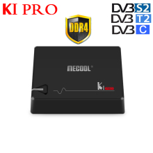 цена на 2GB DDR4 16GB EMMC Flash KI pro Amlogic S905D 64 bit Quad Core Android 7.1 DVB-S2&DVB-T2&DVB-C COMBO Smart TV Box