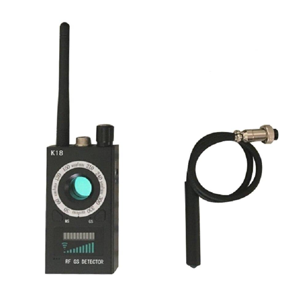K18 Multi function Detector font b Camera b font GSM Audio Bug Finder GPS Signal Lens