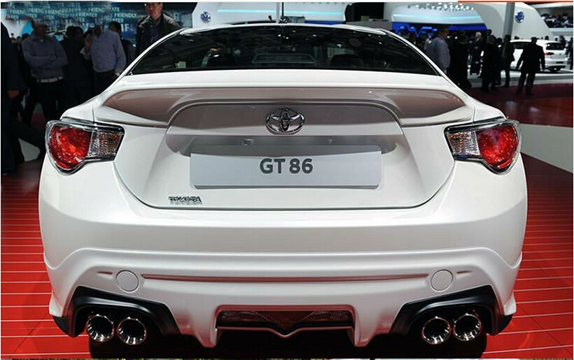 unpainted abs spoilers abs car rear wing trunk spoiler for. Black Bedroom Furniture Sets. Home Design Ideas