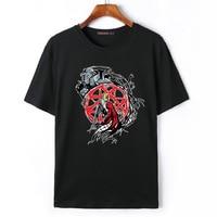 Flevans 2017 Summer Fashion Anime Camiseta Fullmetal Alchemist Edward Elric Fresco Impreso T-shirt de Manga Corta