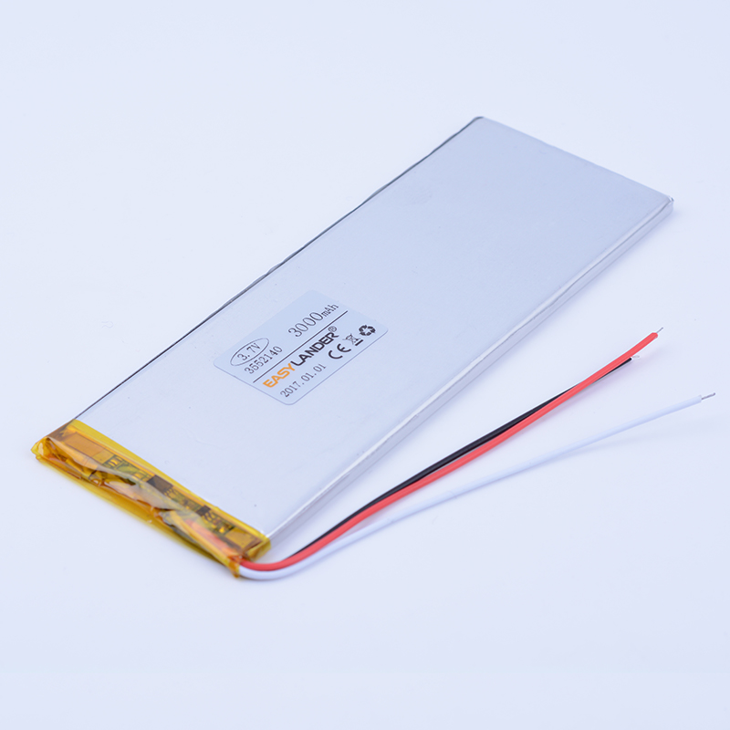 $ Number hilos 3.7 V 3000 mAh batería Recargable de li-Polímero Batería Li-ion P