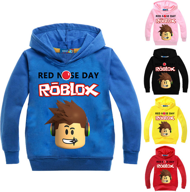 YLS 2-14Years Roblox Shirt Boys or Girls Hoodies and sweatshirts Pullover 5