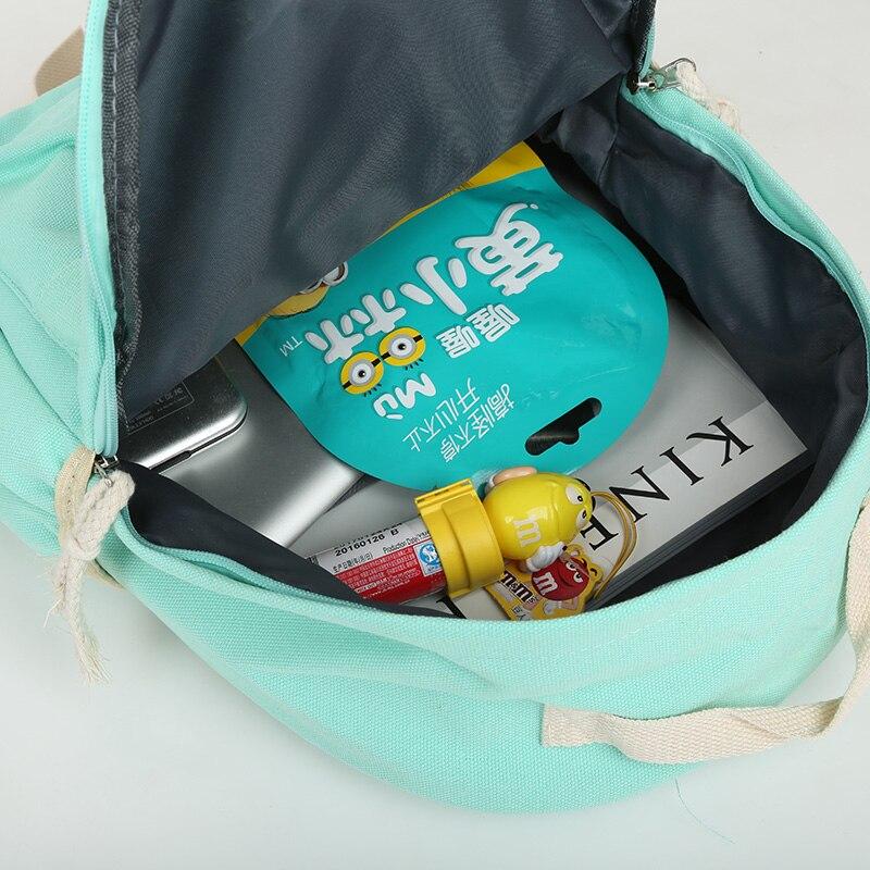 adolescentes mochila composta conjuntos Técnica : Gravando