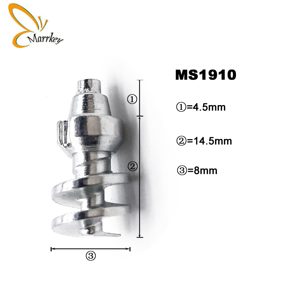 Marrkey MS1910 50pcs Tire Studs Spikes for Tires Ice Screw in Studs Snow Chians for Huge