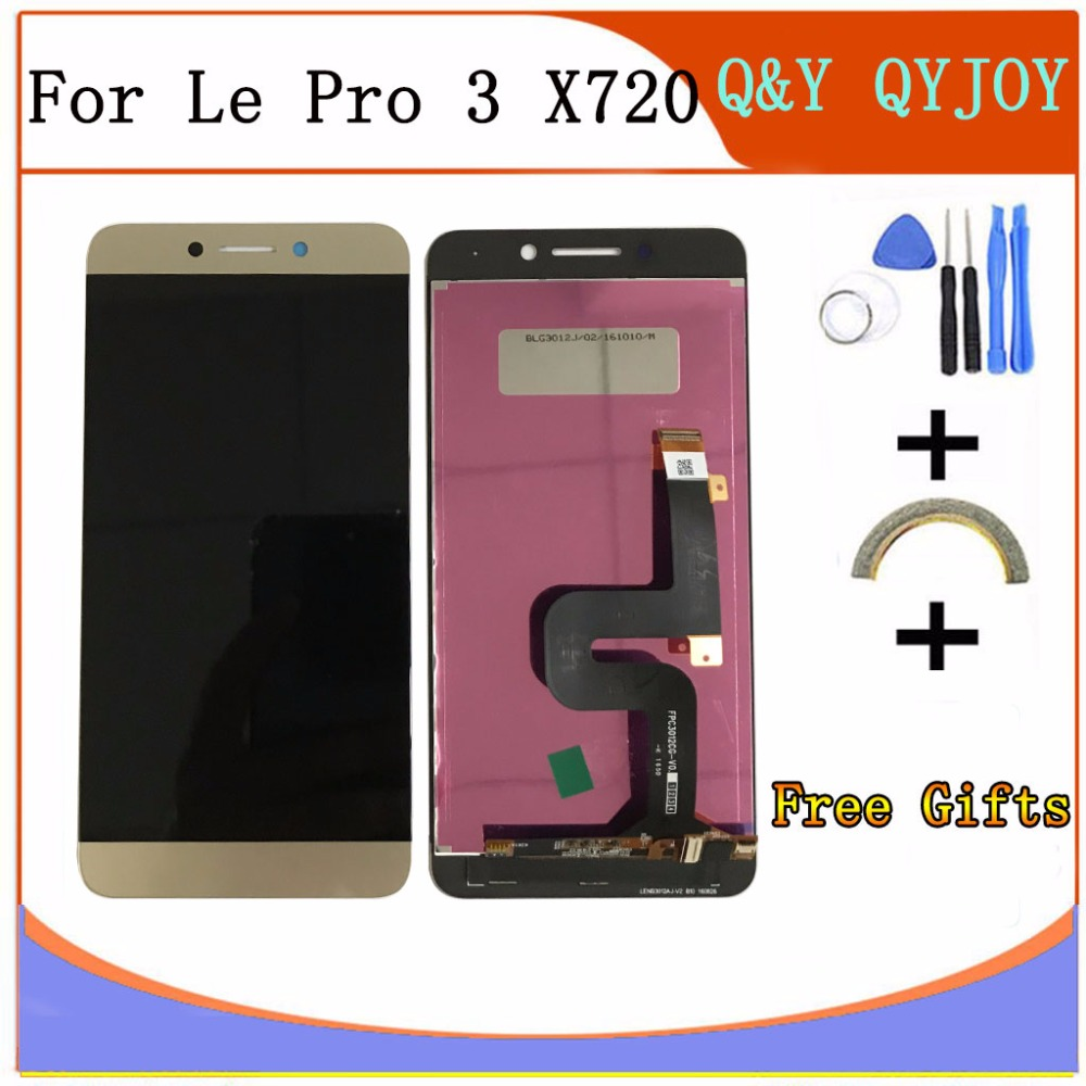 Für LeTV LeEco Le Pro3 X720 X725 X727 X726 X722 X728 Pro 3 100% Neue 5,5 zoll Voll LCD DIsplay + Touchscreen Digitizer Montage