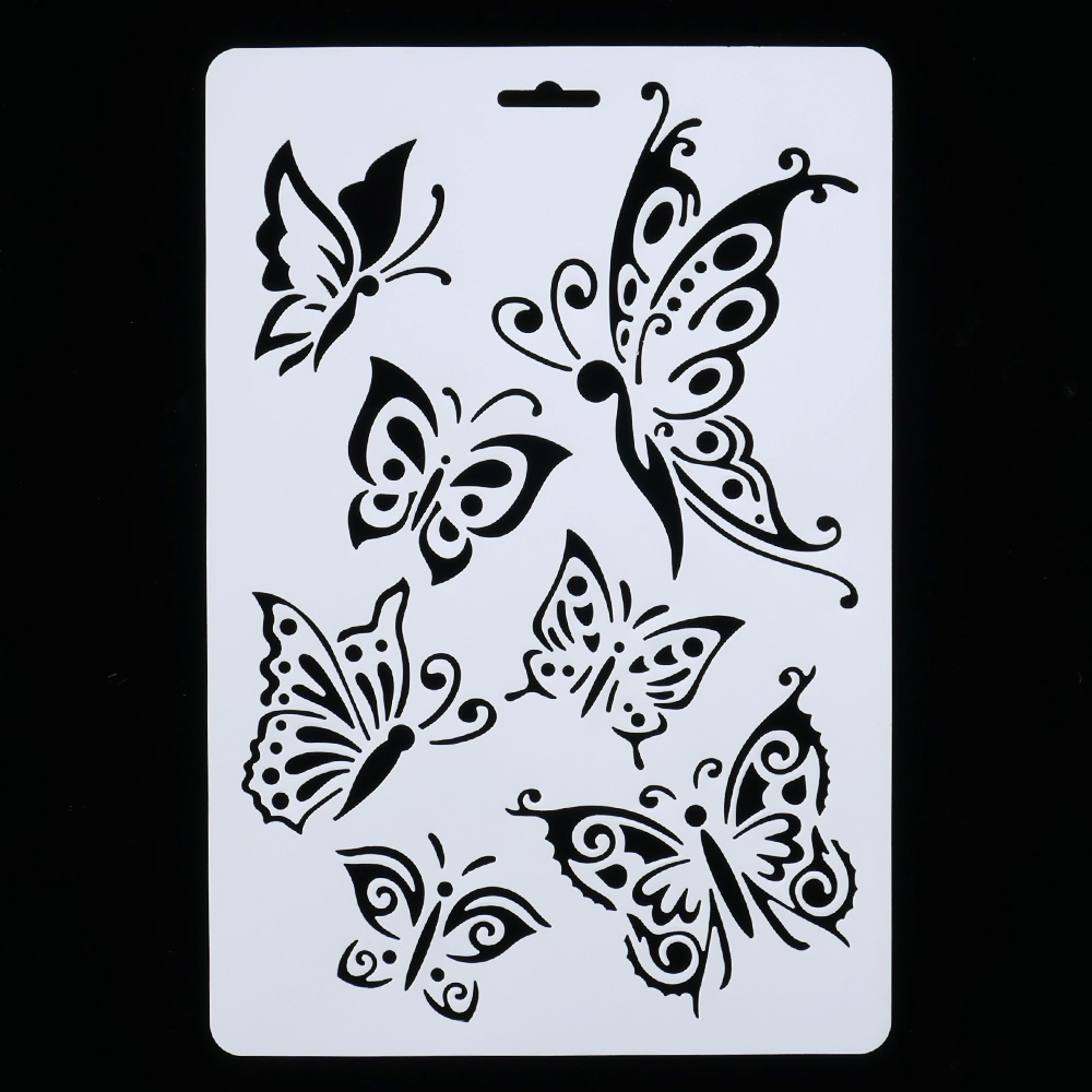 DIY Craft Butterfly Layering Stencils For Walls Painting Scrapbooking Stamping Stamps Album Decorative Embossing Paper Cards