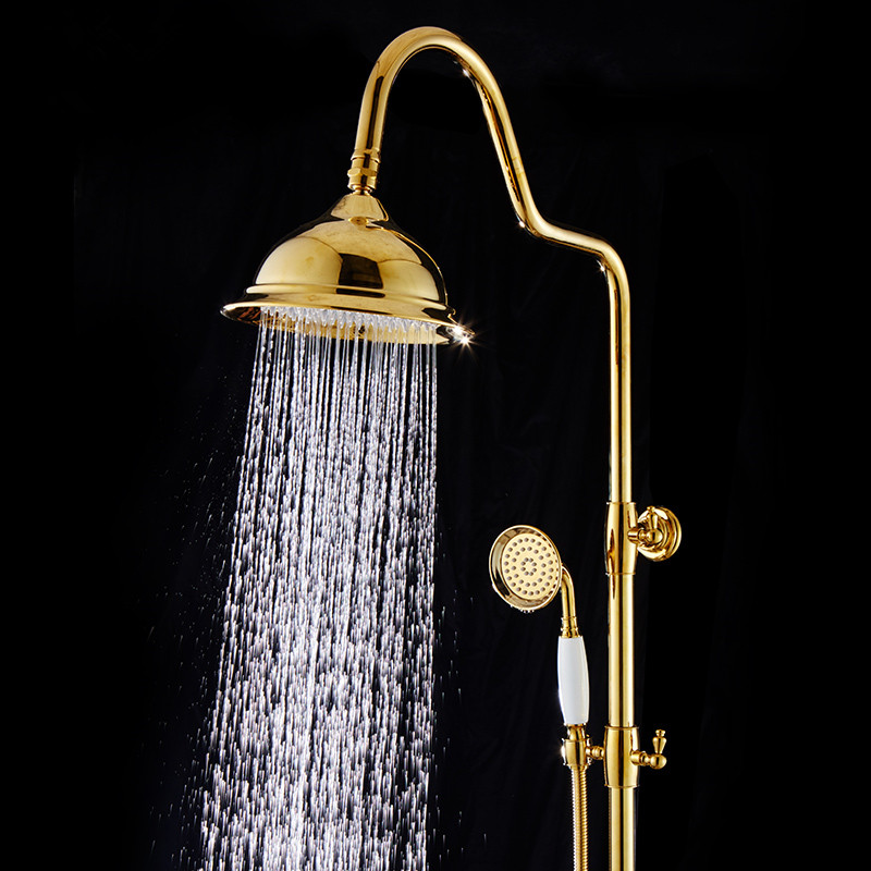 Aliexpress.com : Buy BOCHSBC Gold Shower Head Set European Style ...