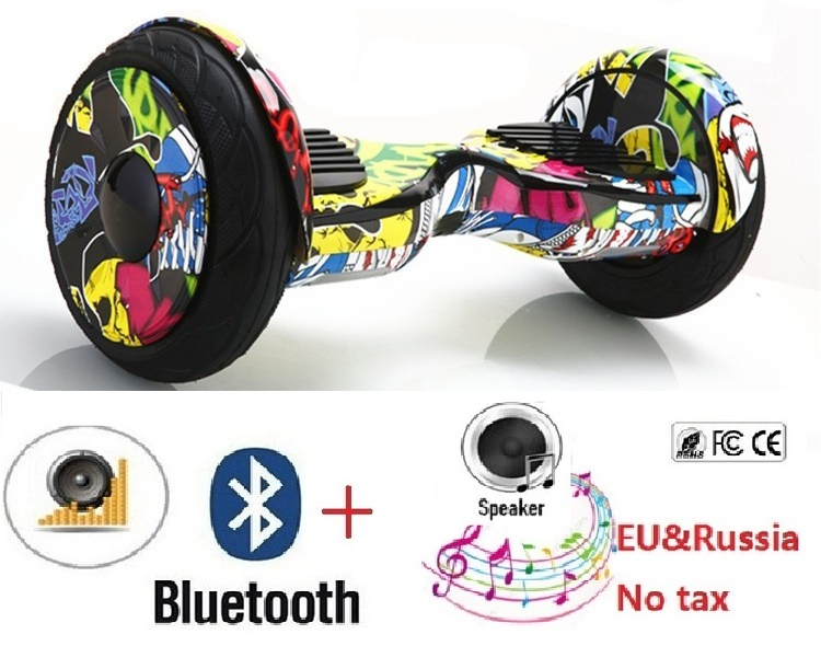Reborn 10 inch Adult Electric scoooter Hoverboard Skateboard Electric self balancing scooter gyroscooter penny board or Oxboard no tax to eu ru four wheel electric skateboard dual motor 1650w 11000mah electric longboard hoverboard scooter oxboard