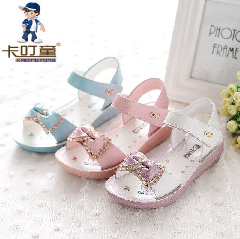 Kinderschoenen Met Lichtjes Maat 23.Kadingtong Zomer Kinderen Schoenen Voor Meisjes Prinses Partij Echt