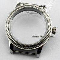 44mm sterylny zegarek ze stali 316L zegarek na rękę Shell Fit ETA 6497/6498 Seagull ST36 Movement