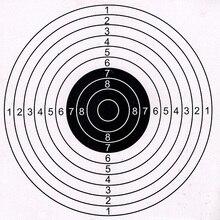 50 pièces en plein air chasse tir cible papier cible 14x14cm ou 17x17cm haute qualité cible papier