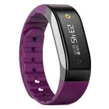 SMA Группа Фитнес-Браслет Bluetooth 4.0 Браслет Монитор Сердечного ритма Сна Tracker Шагомер Водонепроницаемый Смарт-Ремешок для Телефона
