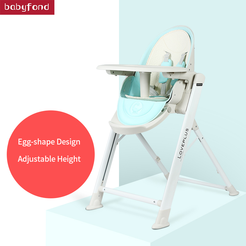 No Need To Install Children's Multi-function Dining Chair Light Foldable Adjustable Portable Baby Dining Chair Baby Eating Chair